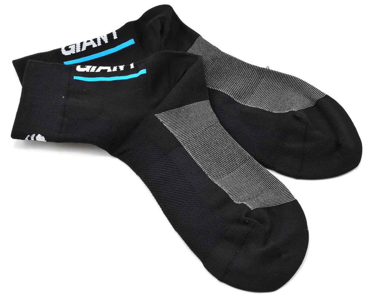 Giant Rev Lite Quarter Cycling Socks (Black)