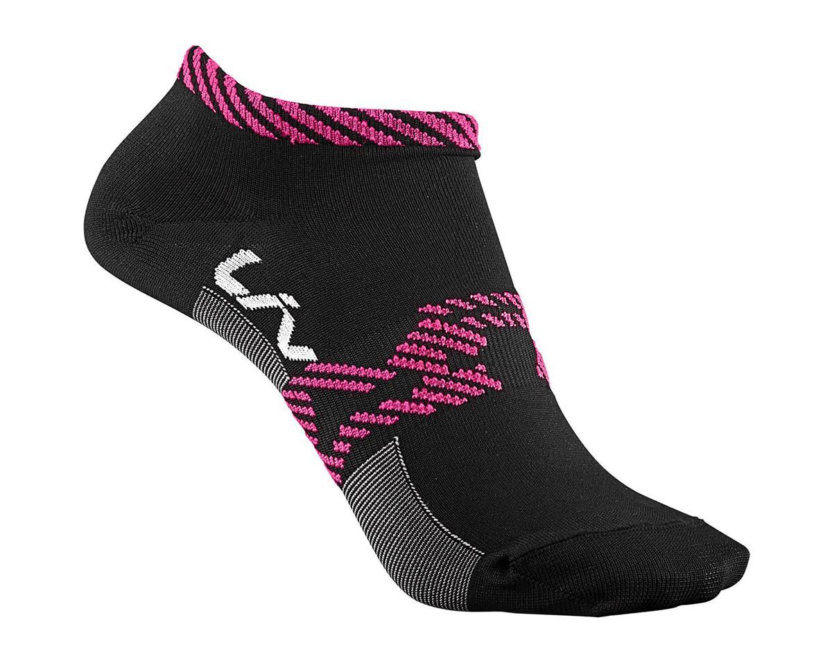 Liv/Giant Festa Women's Socks (Black/Pink) (XS/S)