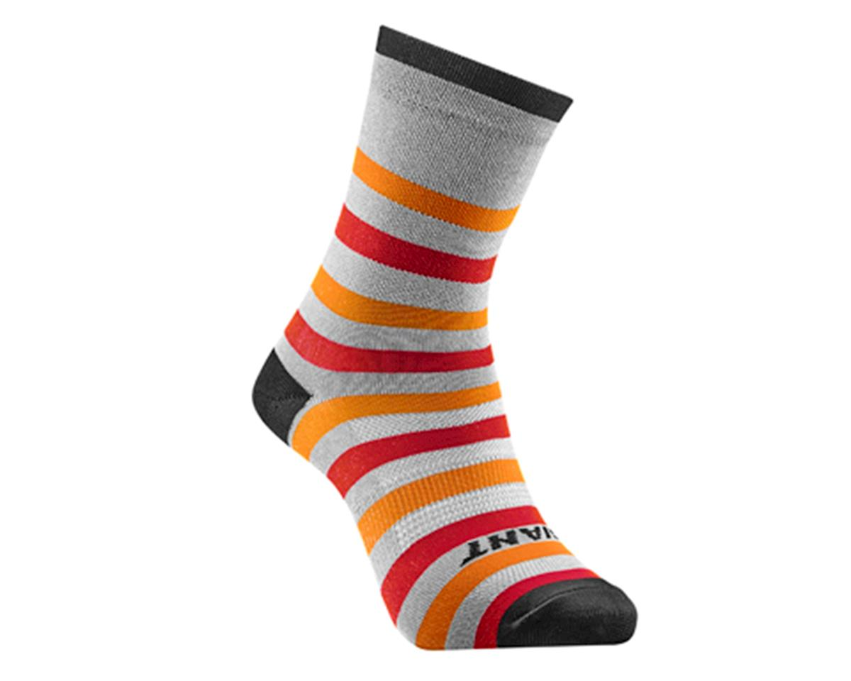 Giant Transcend Socks (Red/Orange) (M)