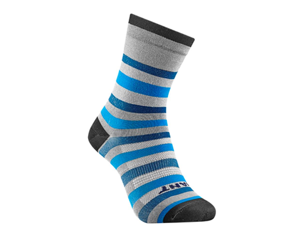 Giant Transcend Sock (Blue/Cyan)