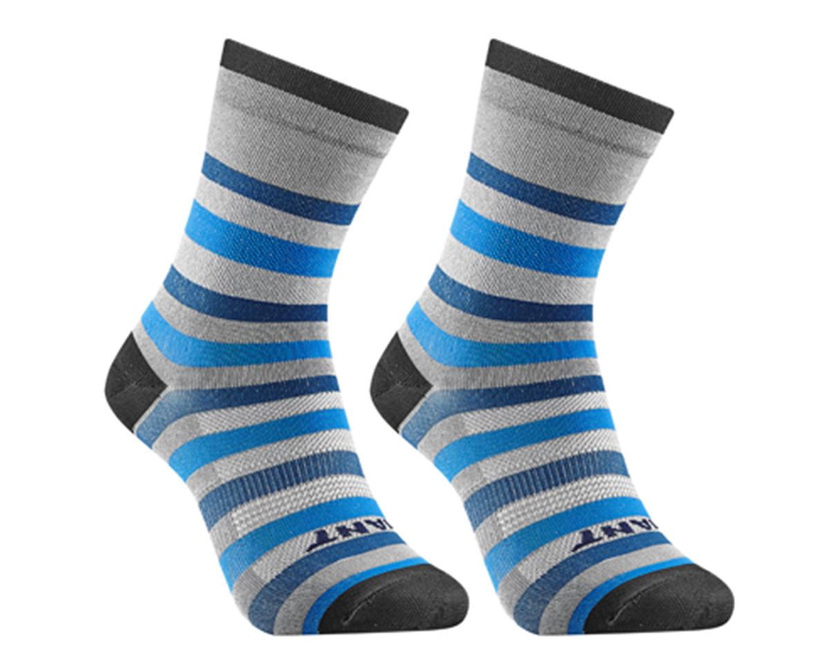 Giant Transcend Sock (Blue/Cyan) (M)