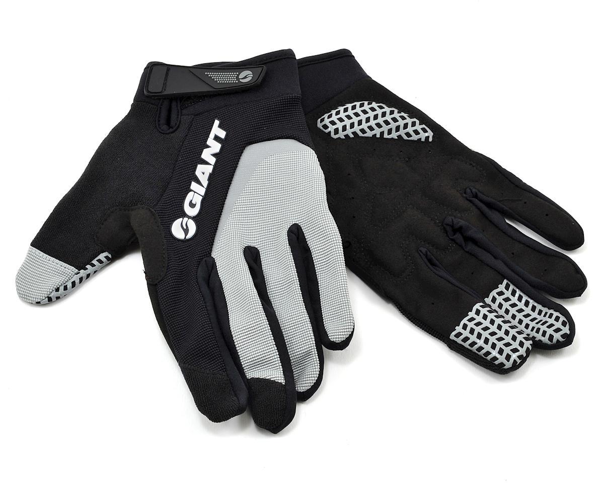 Giant Horizon Long Finger Bike Gloves (Grey) (M)