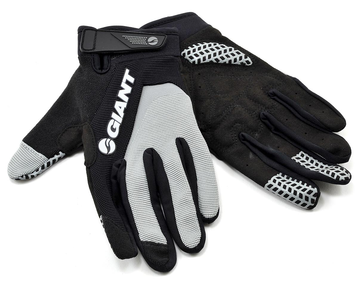 Giant Horizon Long Finger Bike Gloves (Grey) (XL)