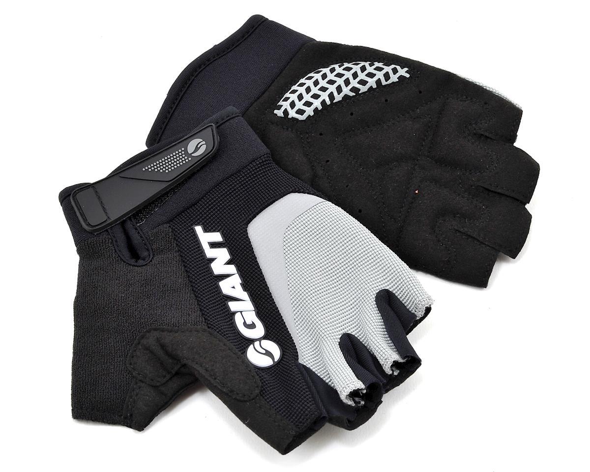 Giant Horizon Short Finger Bike Gloves (Grey) (S)