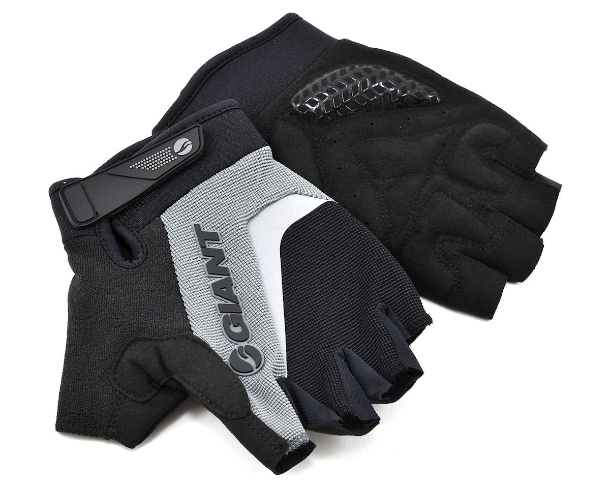 Giant Horizon Short Finger Bike Gloves (Black) (S)