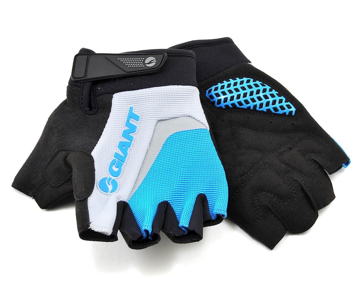 Giant Horizon Short Finger Bike Gloves (Blue) (M)