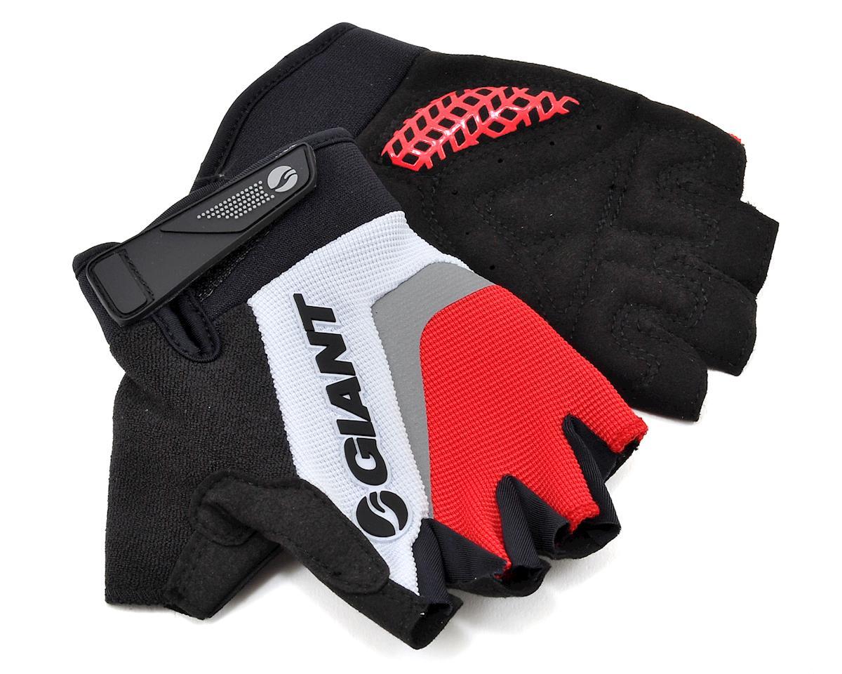 Giant Horizon Short Finger Bike Gloves (Red) (S)