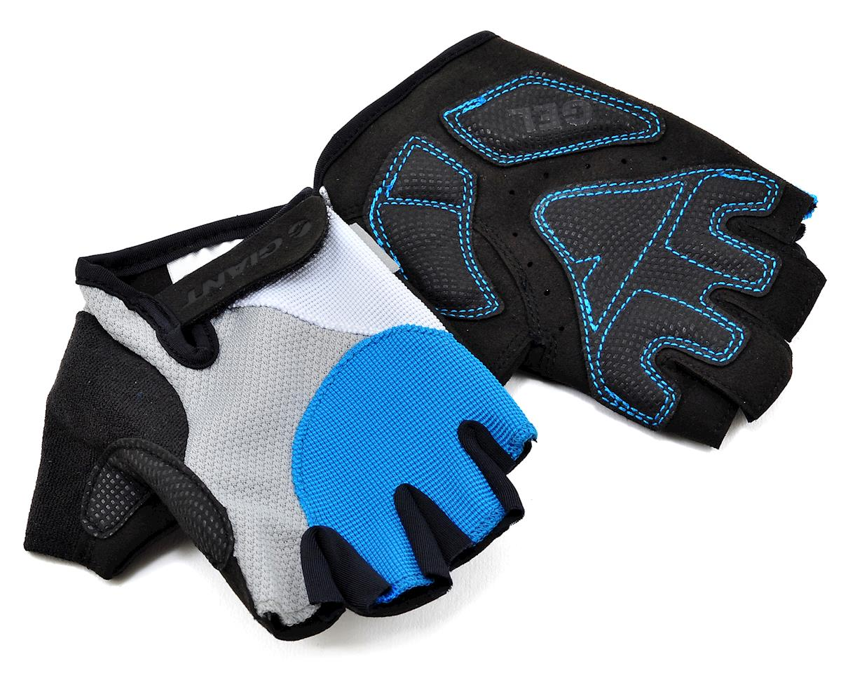 Giant Streak Gel Short Finger Bike Gloves (Blue) (S)