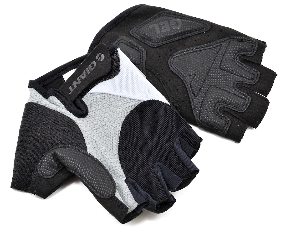 Giant Streak Gel Short Finger Bike Gloves (Grey) (S)