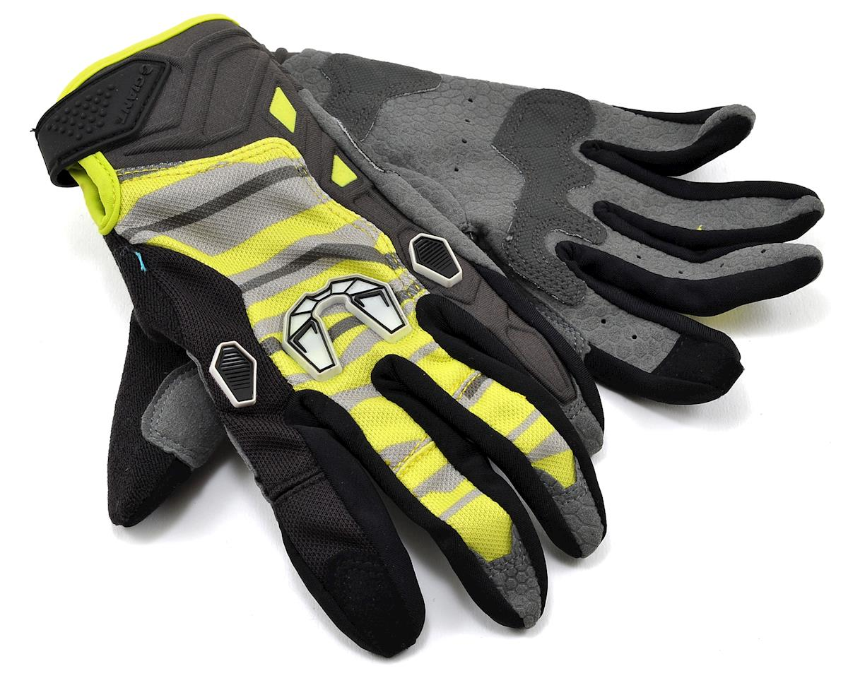 Giant All Mountain Long Finger Gloves (Grey/Neon Green) (XS)
