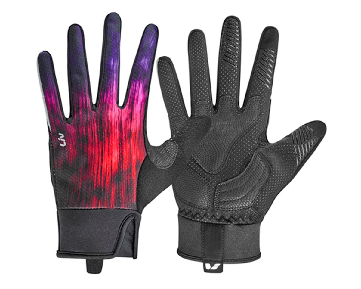 Liv/Giant Zorya Long Finger Women's Gloves (Purple/Fuchsia/Red)