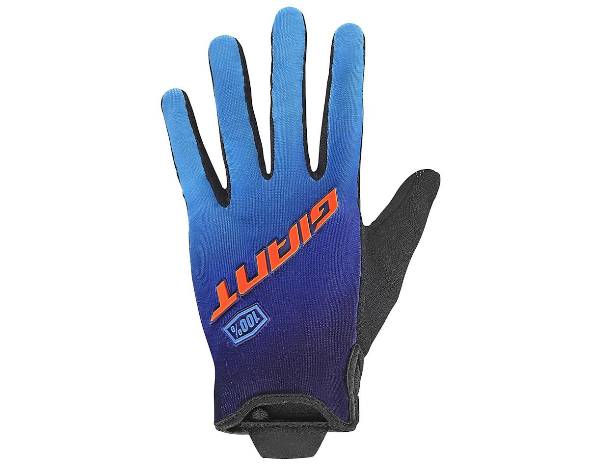 Giant Traverse 100% Long Finger Glove (Blue/Orange)