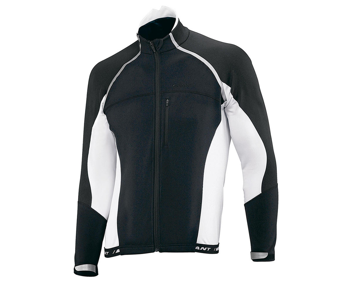 "Giant Pro ""Thermo"" Bike Jacket (Black/White)"