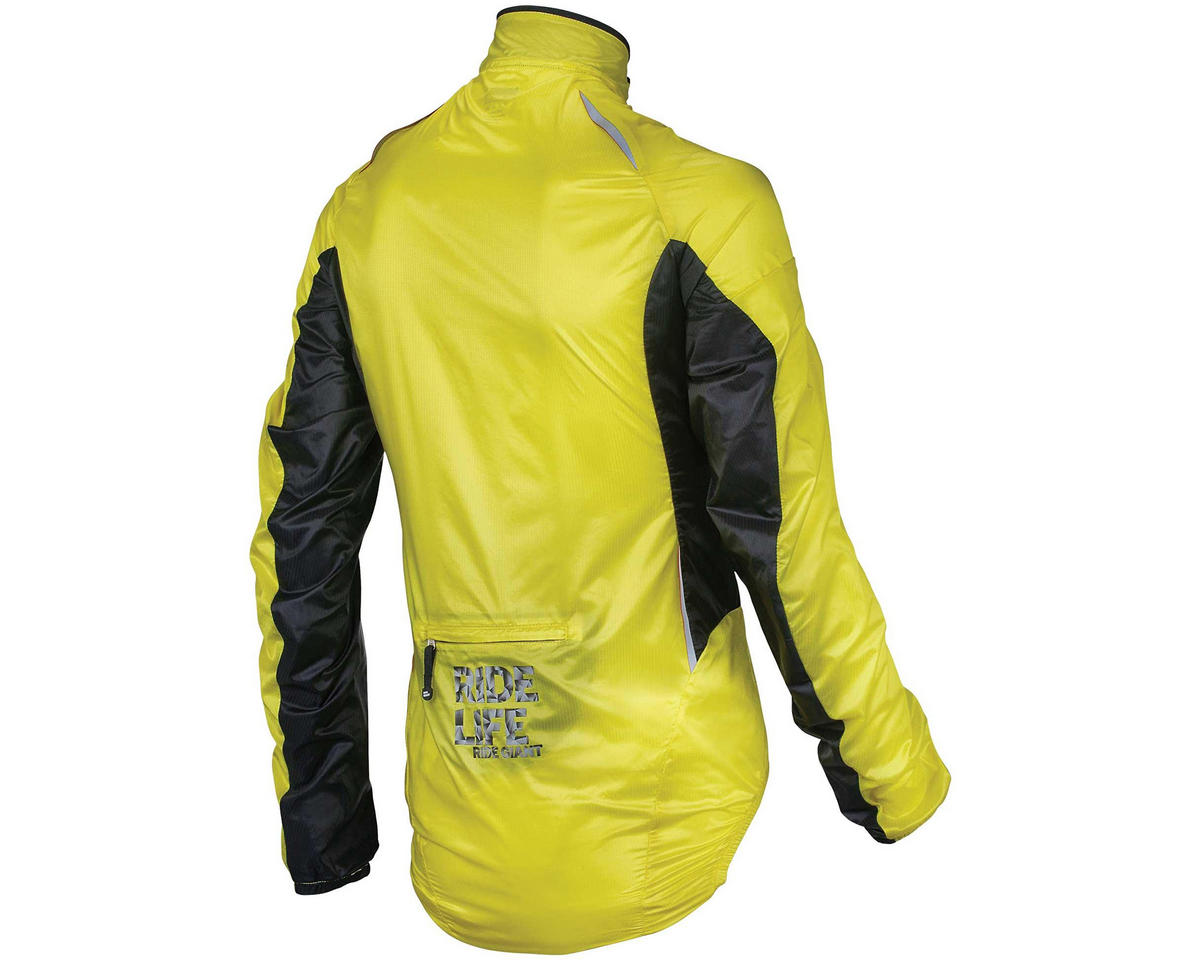 "Giant Superlight ""Wind"" Bike Jacket (Yellow/Black) (S)"