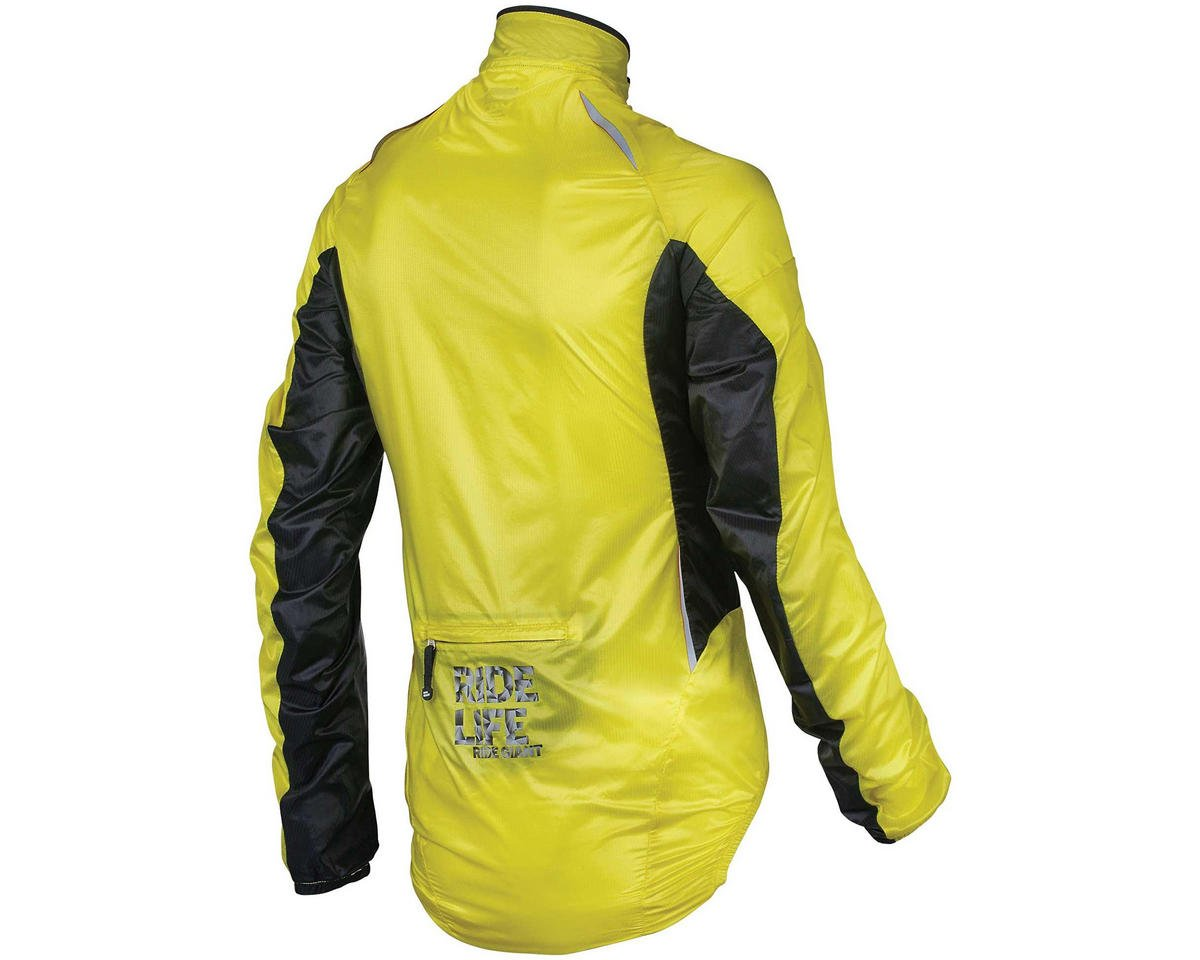 "Giant Superlight ""Wind"" Bike Jacket (Yellow/Black) (M)"
