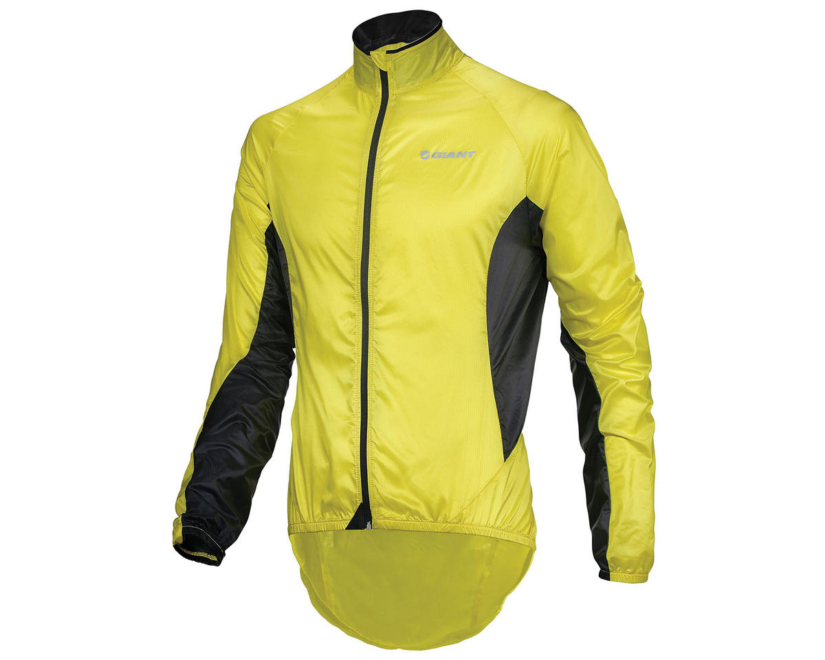 "Giant Superlight ""Wind"" Bike Jacket (Yellow/Black) (L)"