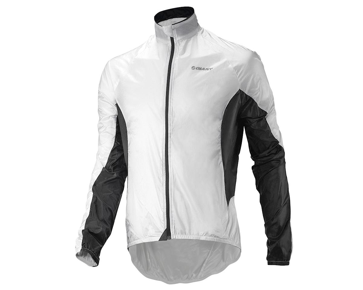"Giant Superlight ""Wind"" Bike Jacket (White/Black) (S)"