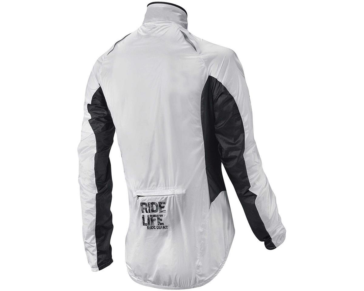 """Giant Superlight """"Wind"""" Bike Jacket (White/Black) (M)"""