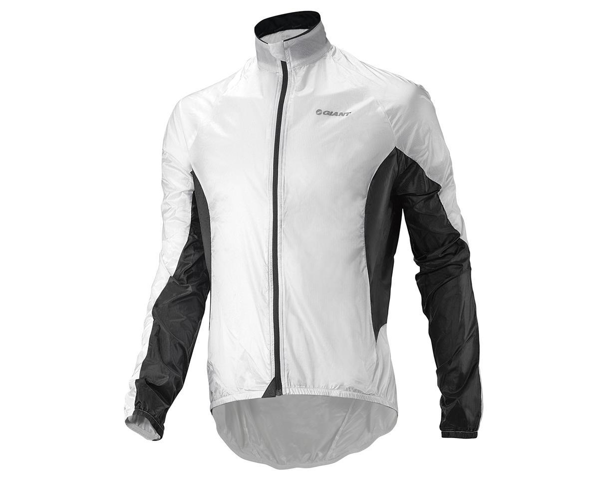"""Giant Superlight """"Wind"""" Bike Jacket (White/Black) (2XL)"""