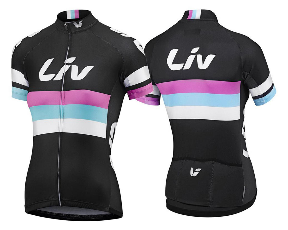 Liv/Giant Race Day Jersey (Black) (L)