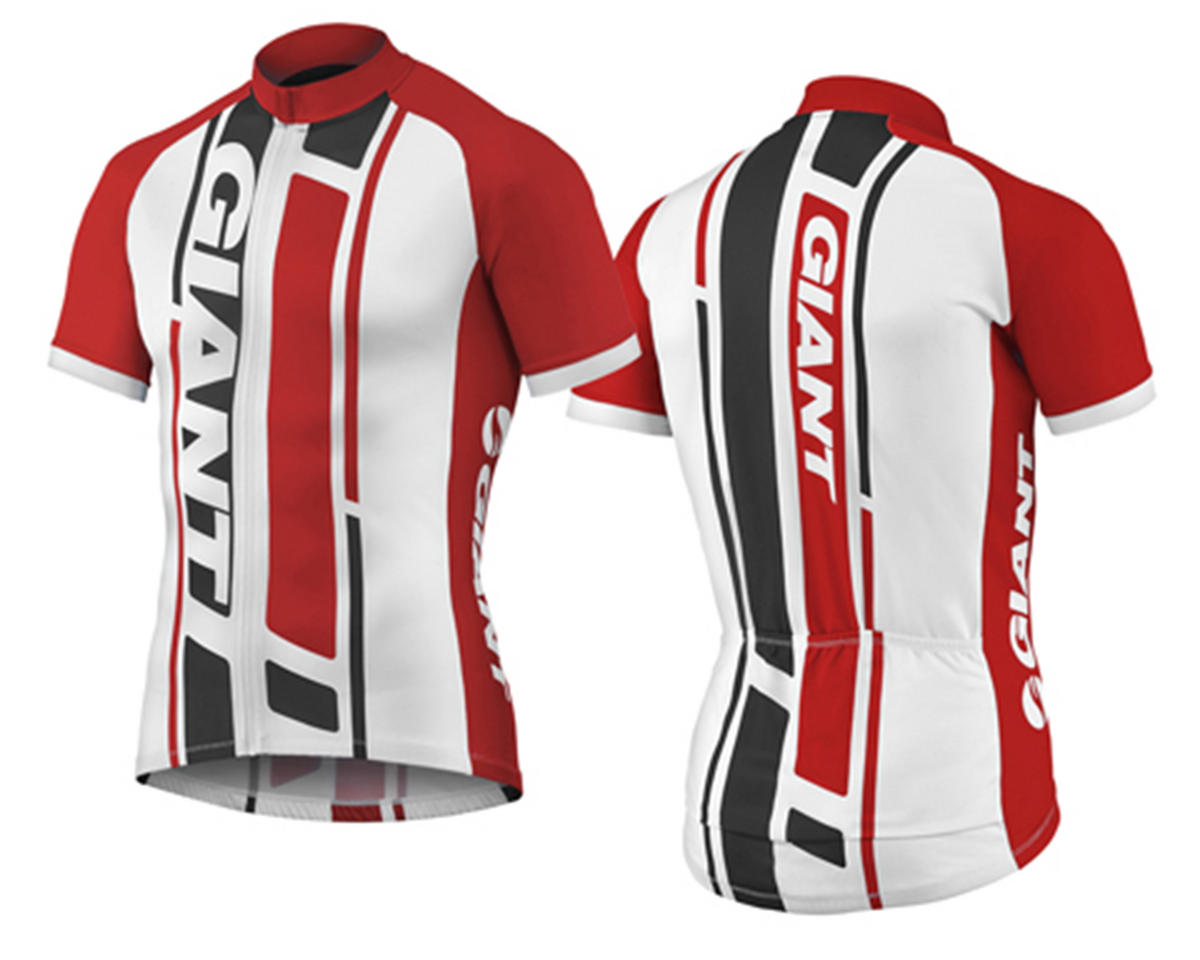 Giant GT-S Bike Jersey (Black/Red) (S)
