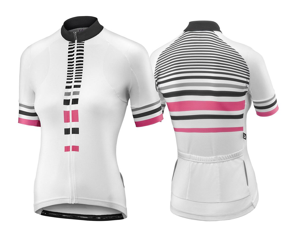 Liv/Giant Signature Women's Jersey (White/Hot Pink) (S)
