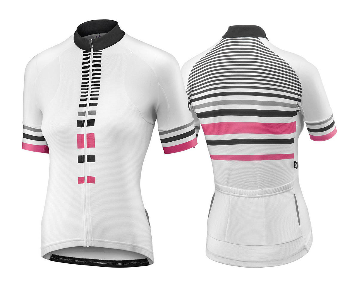 Liv/Giant Signature Women's Jersey (White/Hot Pink) (L)
