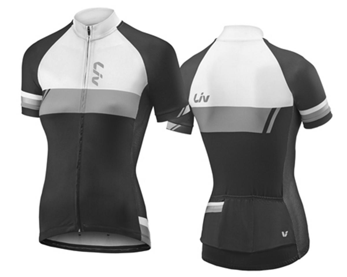 Liv/Giant Capitana Women's Road Cycling Jersey (Black/White)
