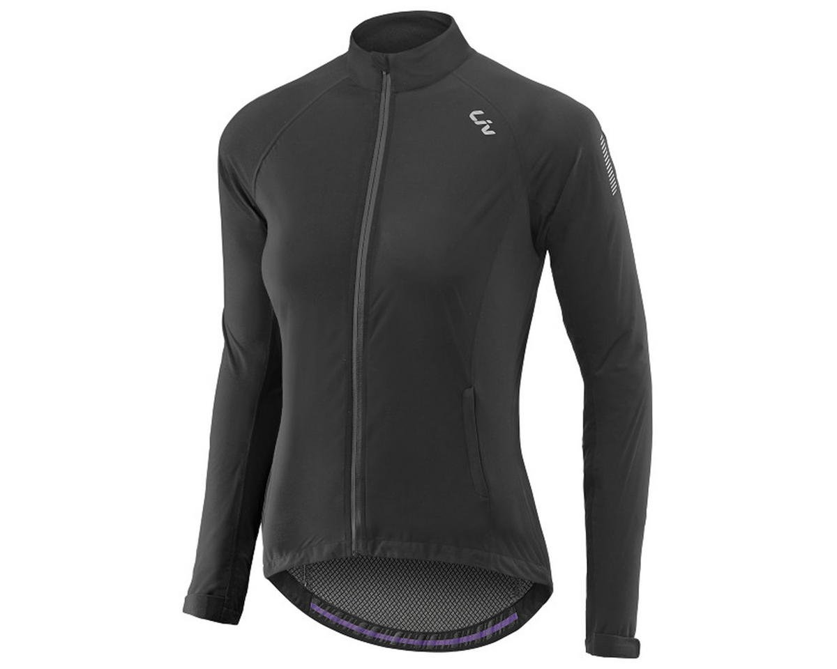 Liv/Giant Delphin Women's Rain Bike Jacket (Black)