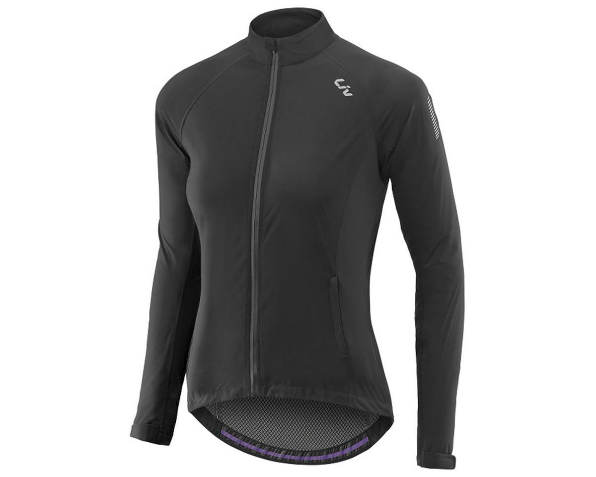 Liv/Giant Delphin Women's Rain Bike Jacket (Black) (XS)
