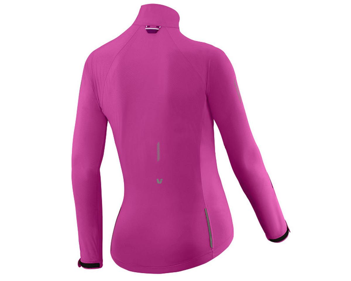 Liv/Giant Delphin Women's Rain Bike Jacket (Fuchsia) (L)