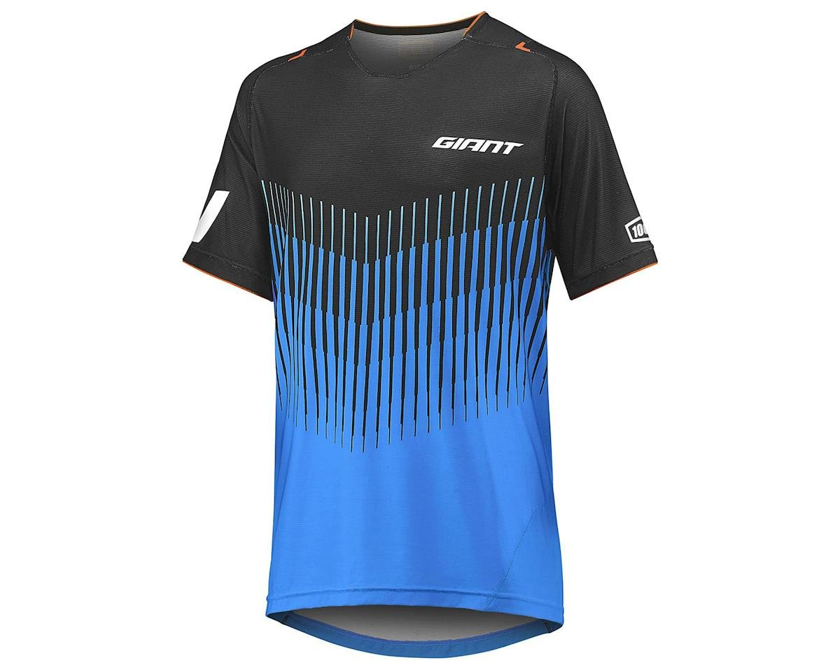 Giant Traverse 100% Short Sleeve Jersey (Blue/Black)