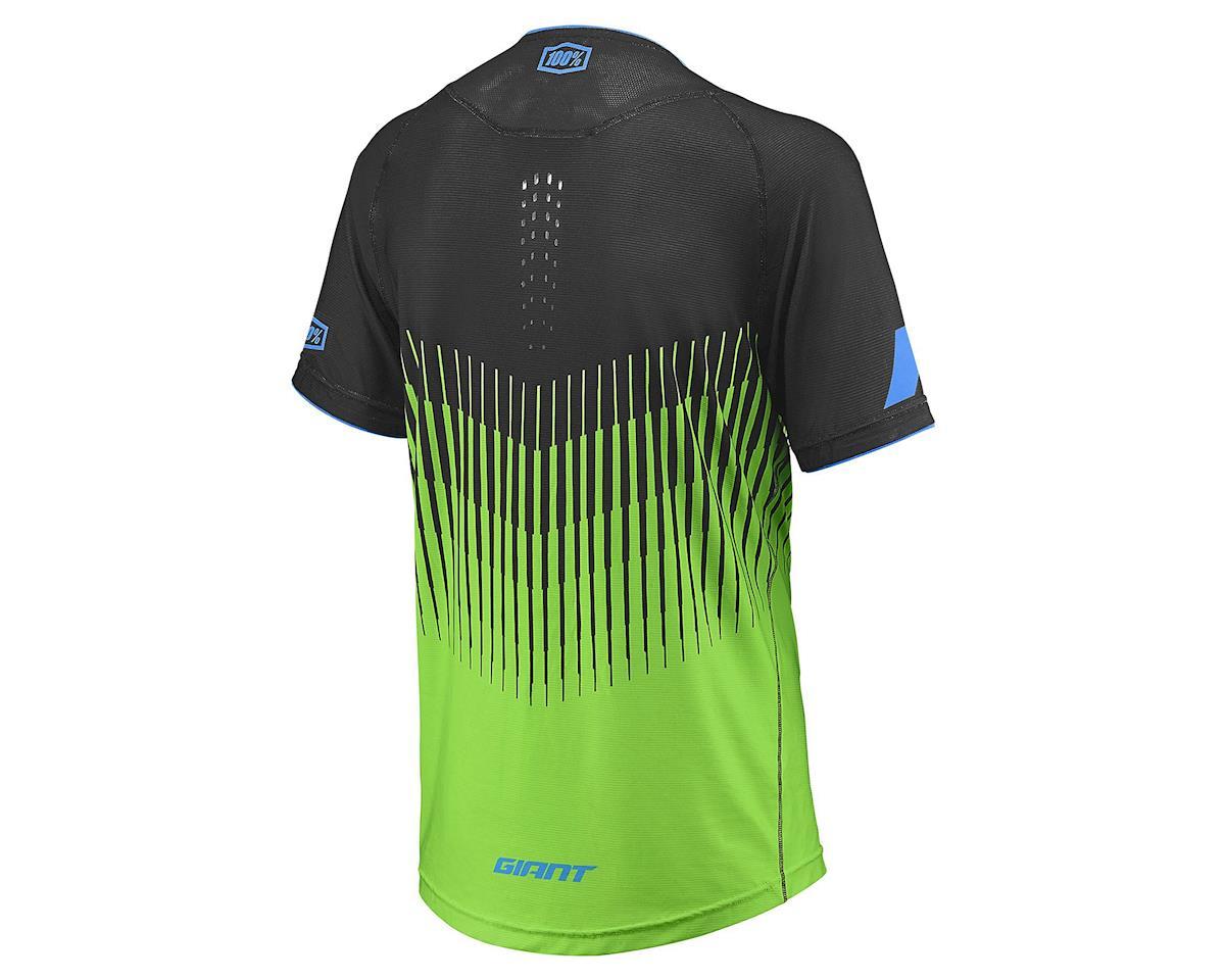 Giant Traverse 100% Short Sleeve Jersey (Green/Black) (S)