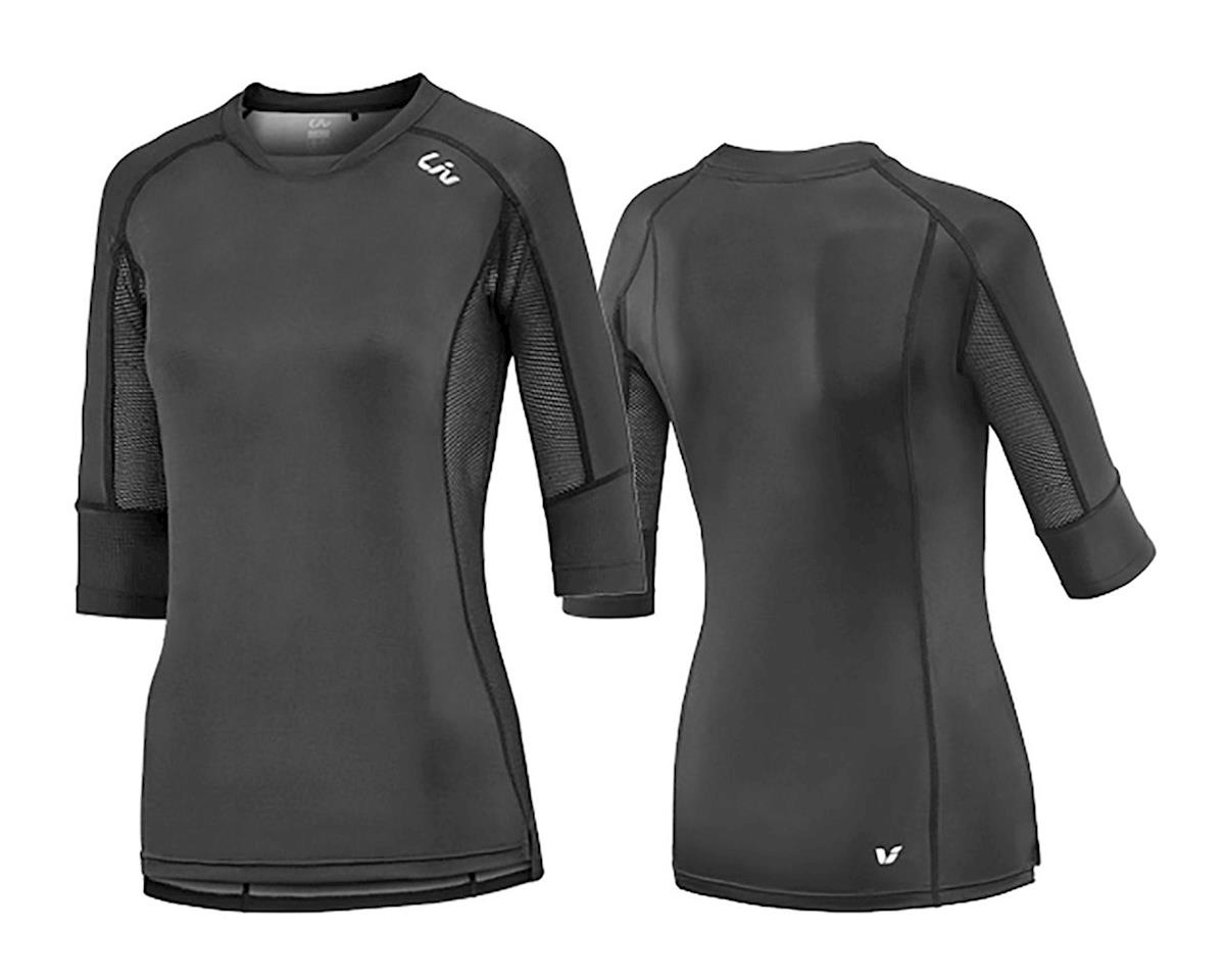 Liv/Giant Tangle 3/4 Sleeve Jersey (Black)
