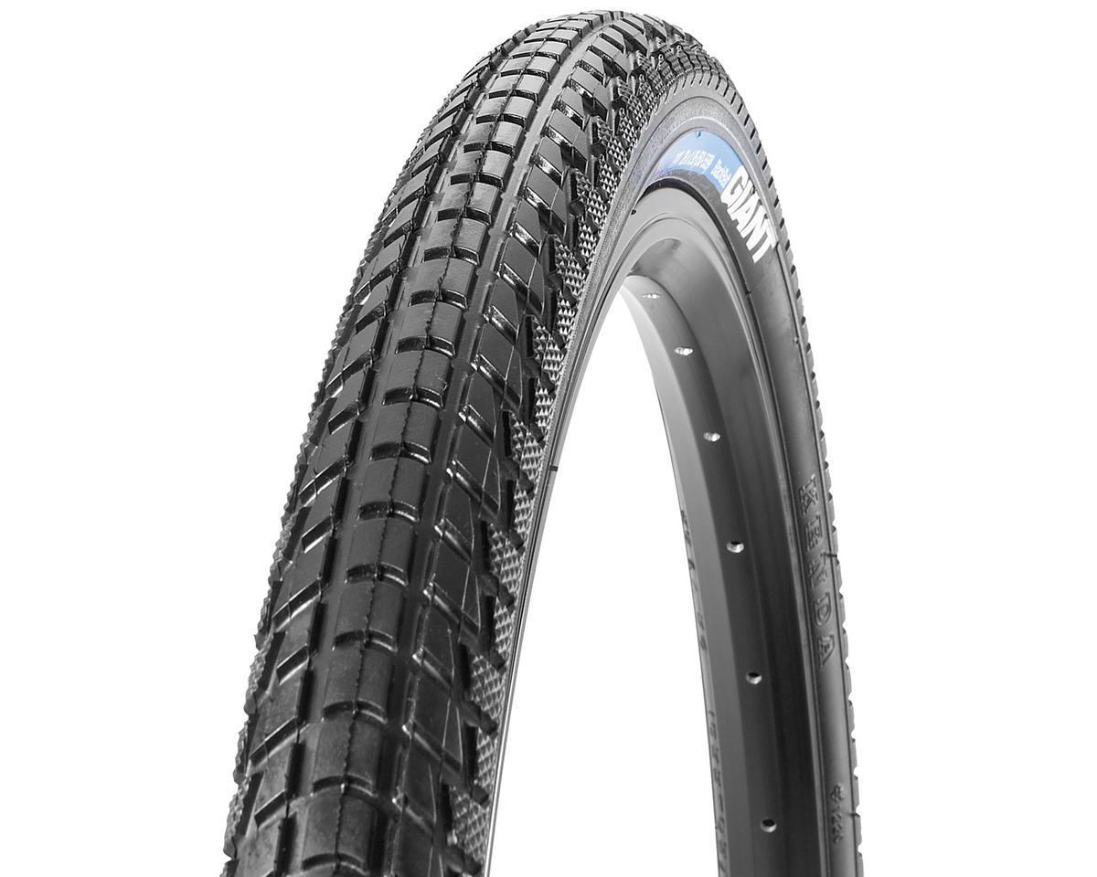 Giant FlatGuard PPT BlackJacket Tire (Wire Bead) (Black/Reflective) (700 x 32)