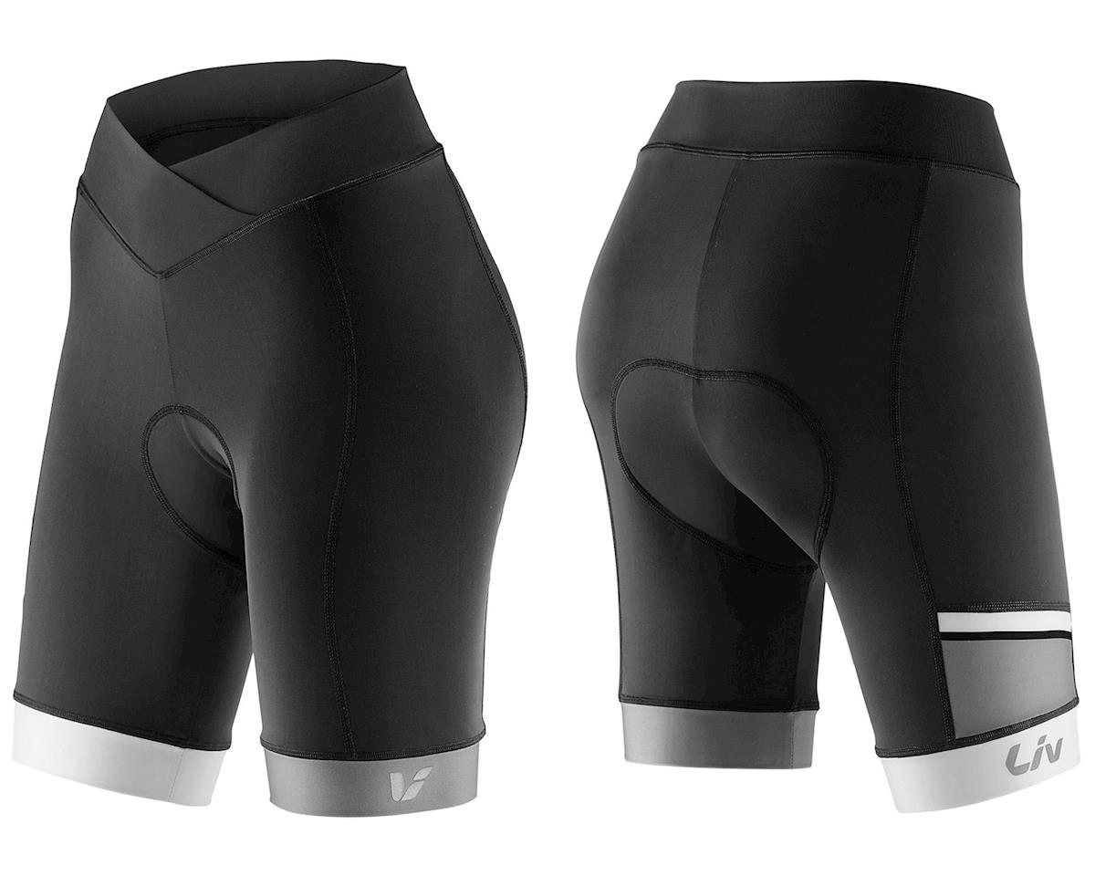Liv/Giant Capitana Women's Bike Shorts (Black/White) (L)