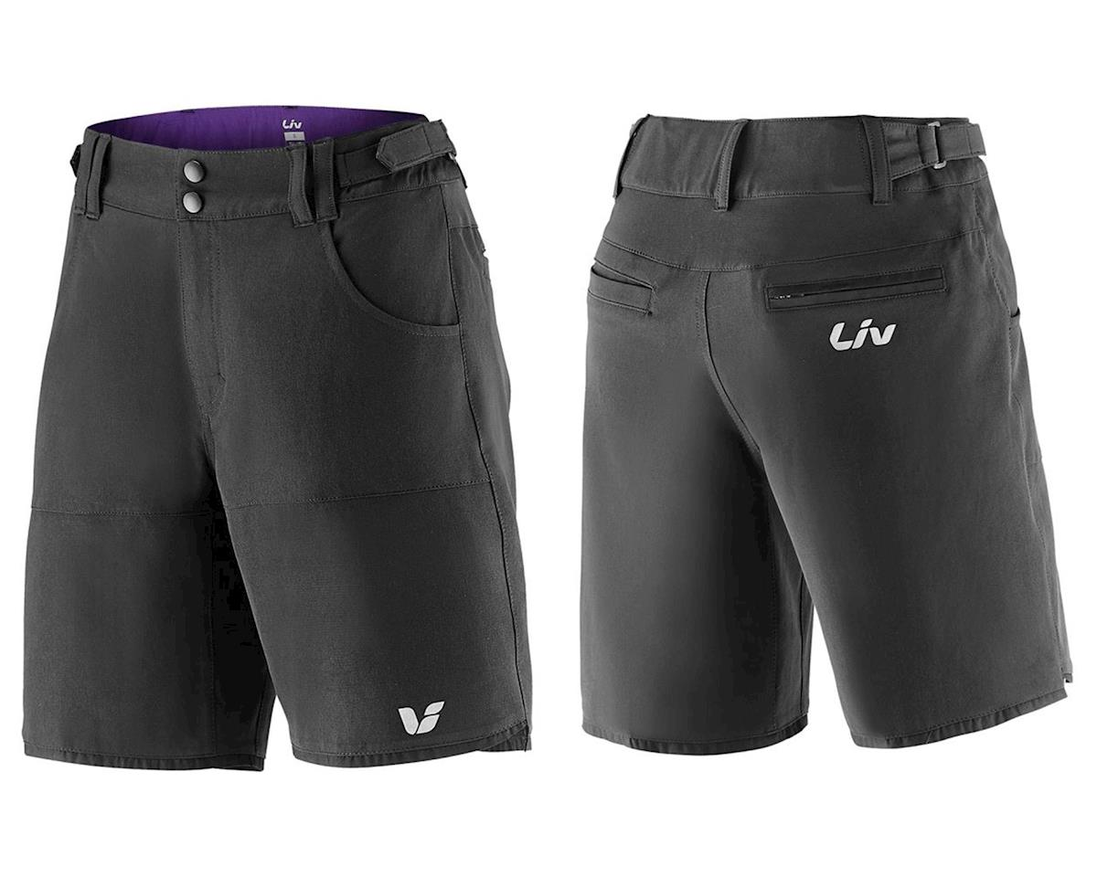 Liv/Giant Activo Baggy Short (Black) (M)