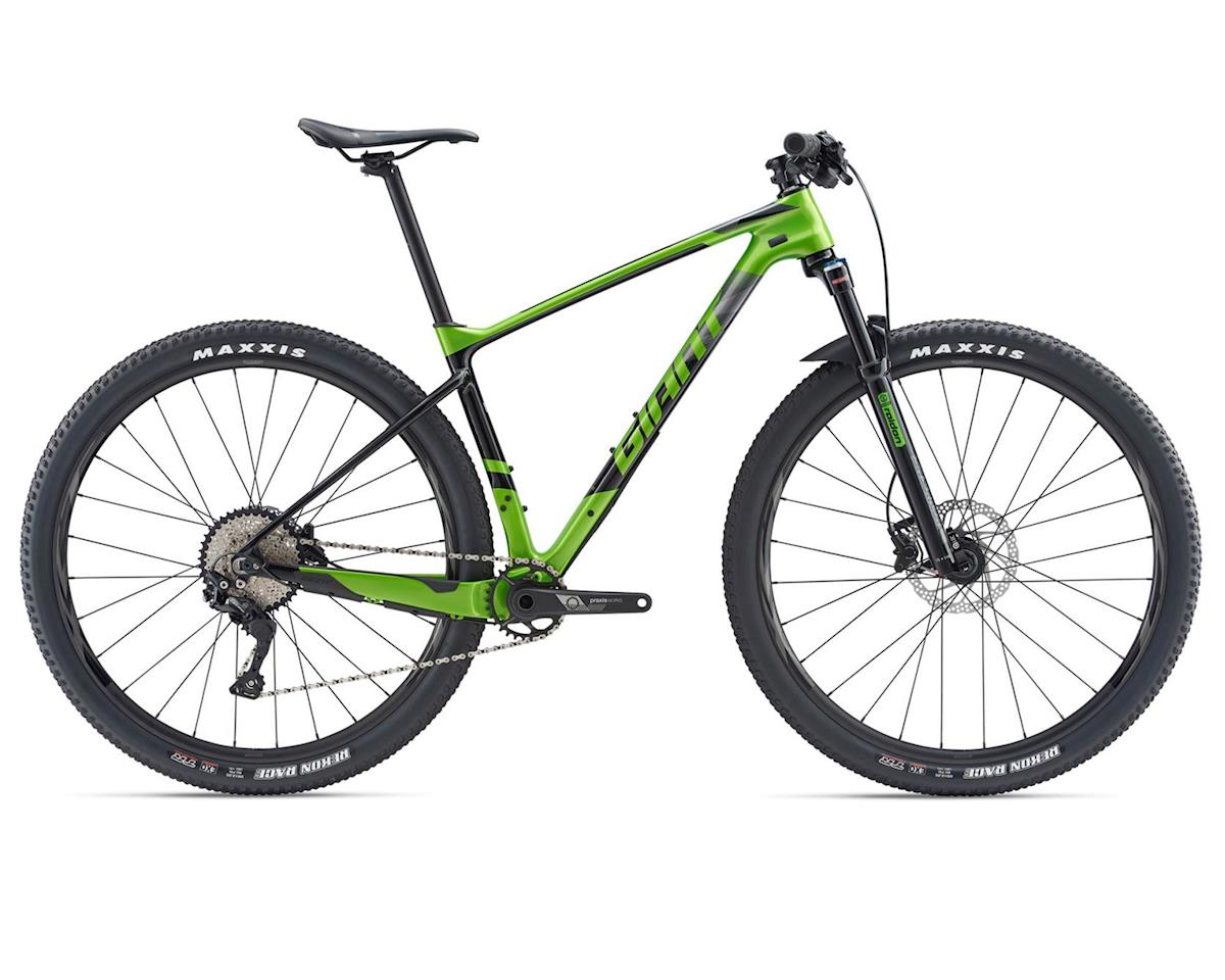 Giant 2019 XTC Advanced 29er 3 (Metallic Green/Carbon/Black) (M)