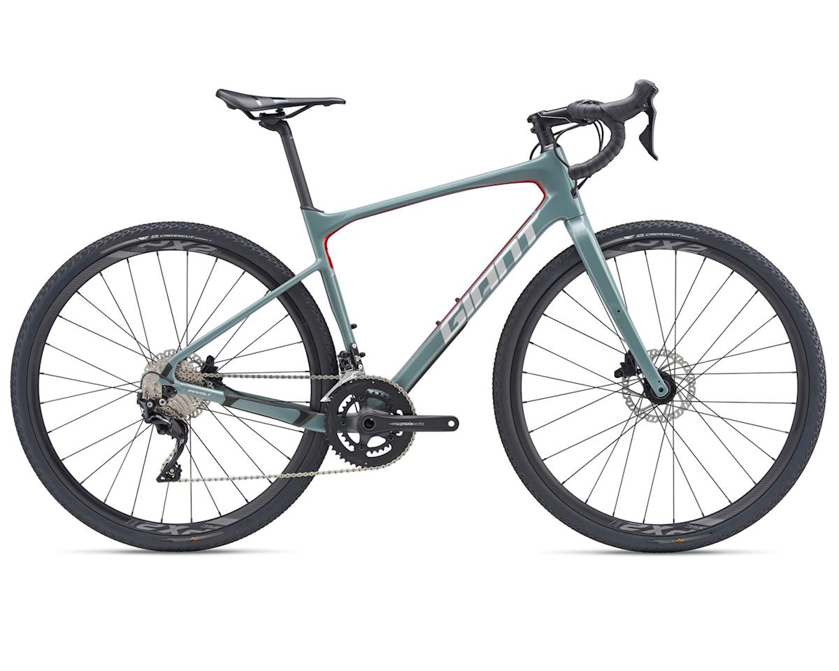 Giant 2019 Revolt Advanced 2 (Deep Gray/Metallic Red/Silver)