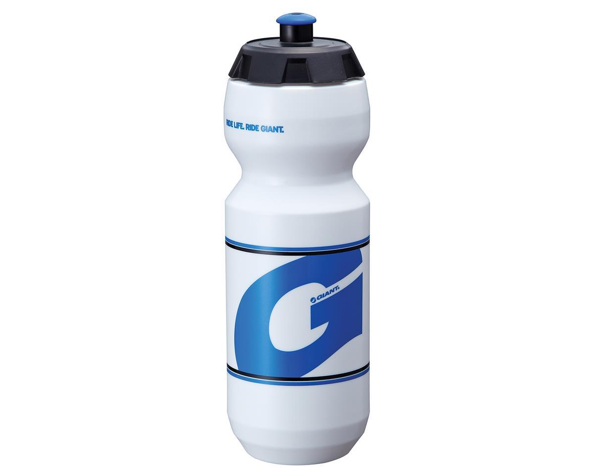 Giant GoFlo Bike Bottle (24oz) (White/Blue)