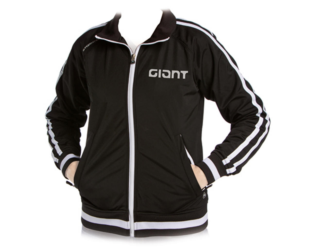 Giant Stormtech Men's Track Bike Jacket (Black/White)