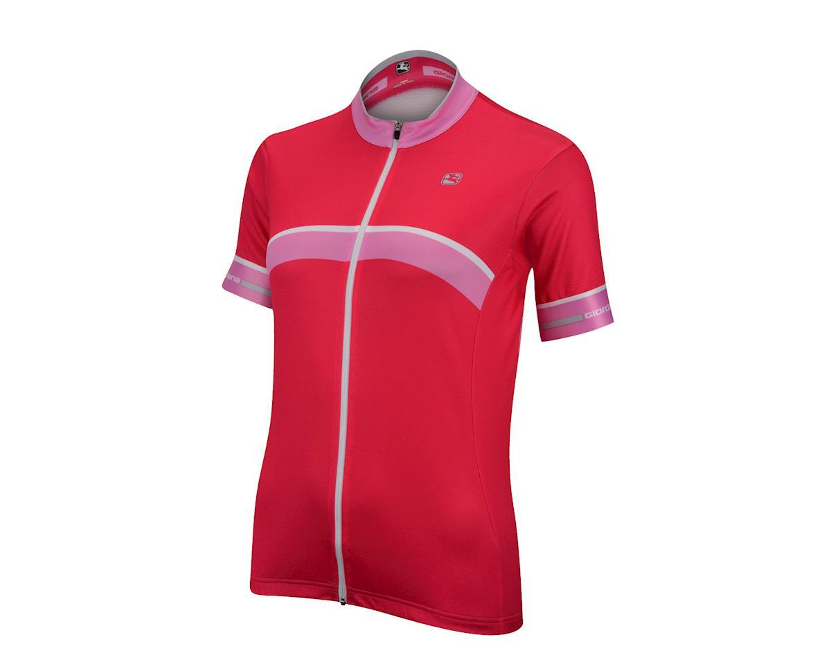 Image 1 for Giordana Women's SilverLine Giro Jersey (Green)