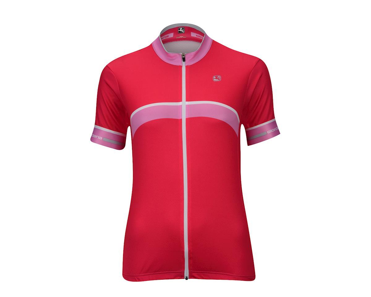 Image 4 for Giordana Women's SilverLine Giro Jersey (Green)