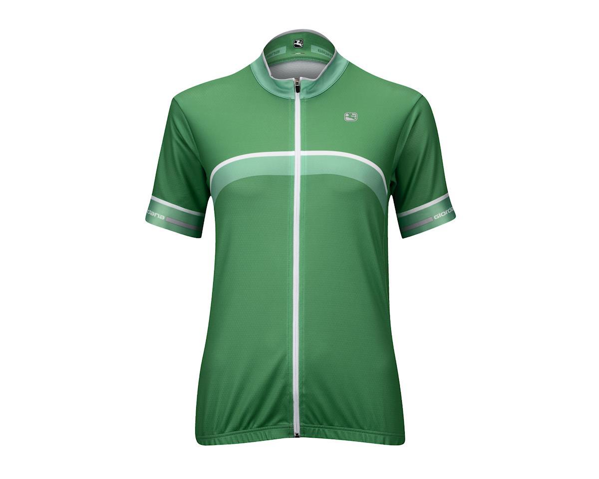 Image 5 for Giordana Women's SilverLine Giro Jersey (Green)