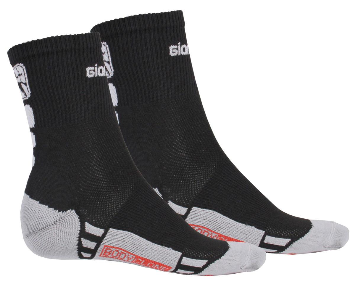 Giordana Men's FR-C Mid Cuff Socks (Black/White) (L)