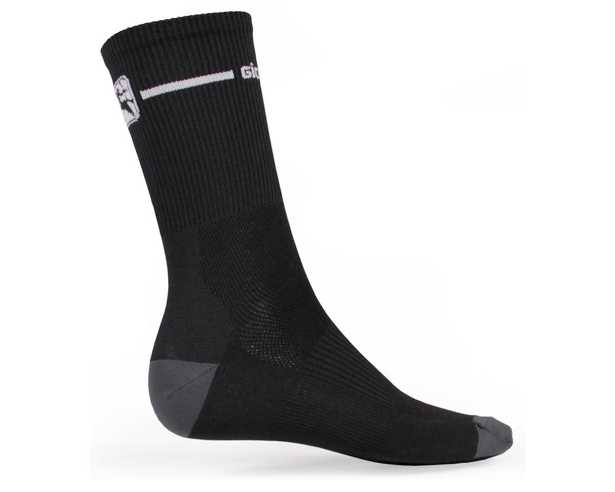Giordana Trade Tall Sock (Black/White) (L)