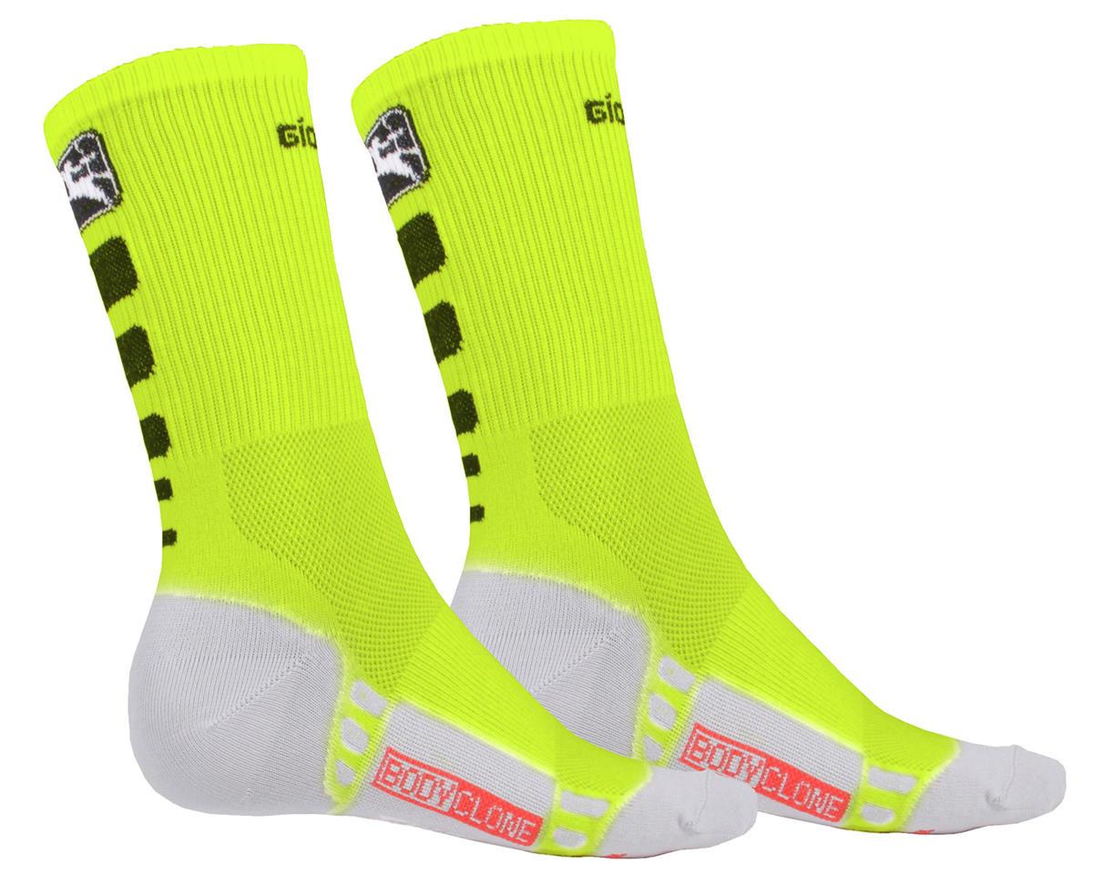 Giordana Men's FR-C Tall Cuff Socks (Fluo/Black) (S)