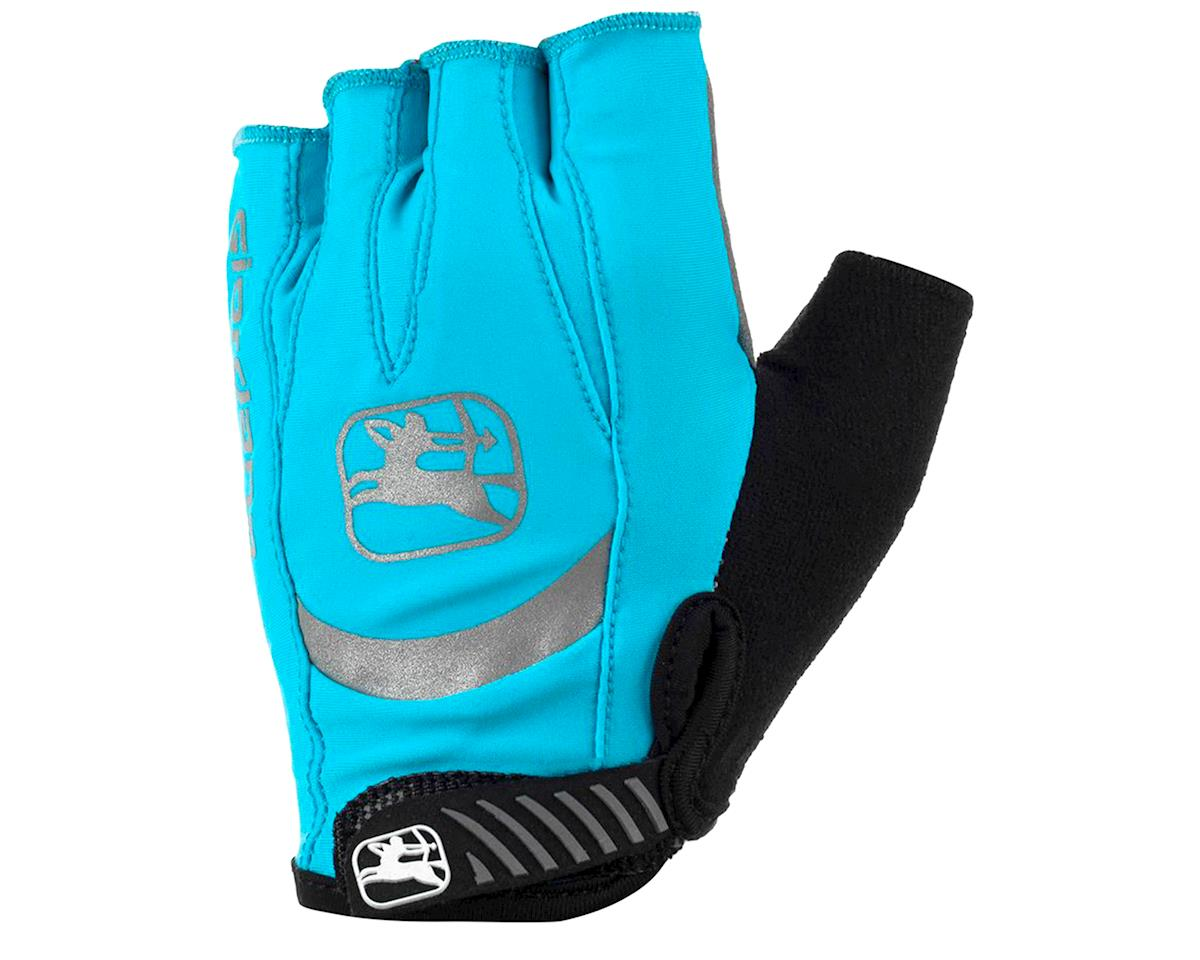 Giordana Women's Strada Gel Glove (Light Blue) (XL)
