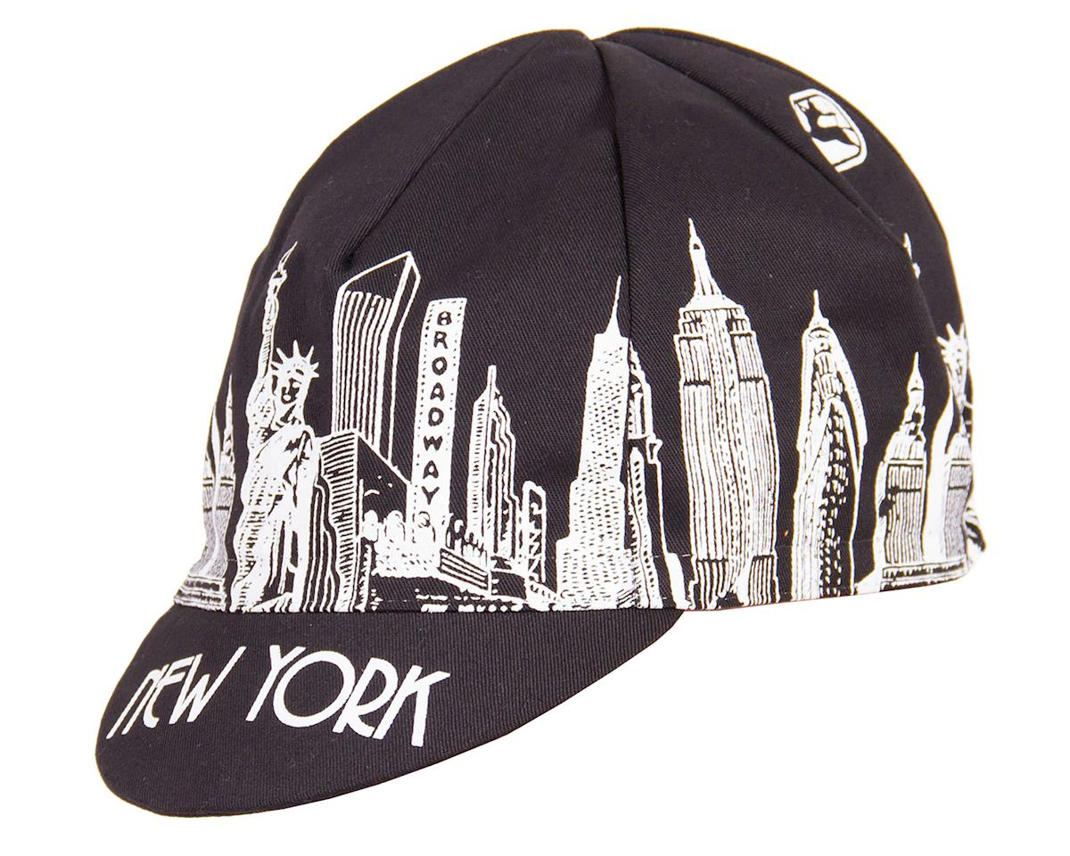 Giordana NYC Landmarks Cycling Cap (Black)