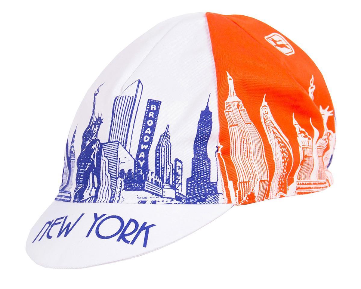 Giordana NYC Landmarks Cycling Cap (Blue/Orange)